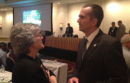 Lt. Gov. Northam addresses Sentara vascular conference
