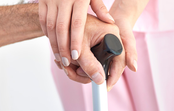 Caregiver Elderly Cane