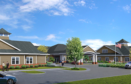 Sentara Life Care breaks ground on new nursing center