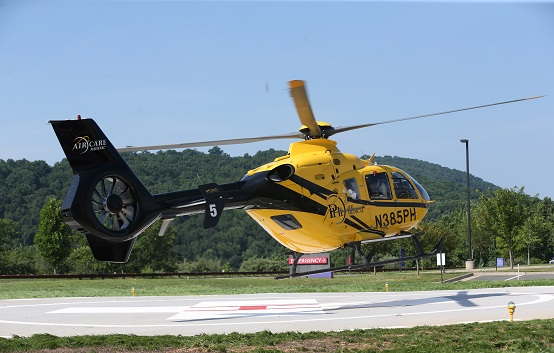 Sentara Martha Jefferson Hospital opens helipad