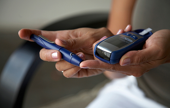 Keeping diabetes in good control
