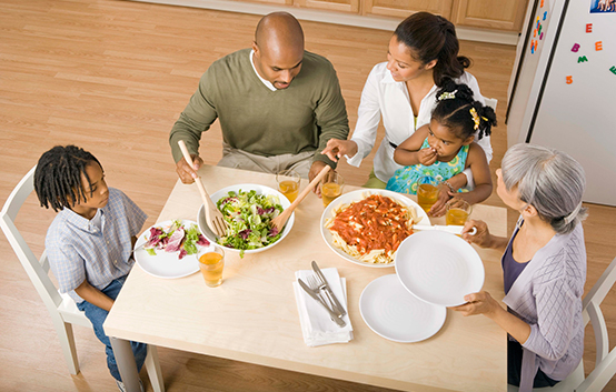 Take time for family meals