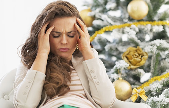Tips for a less stressful holiday season