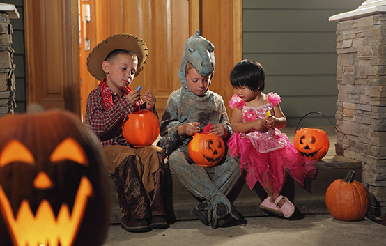 Kids Trick Or Treat Halloween