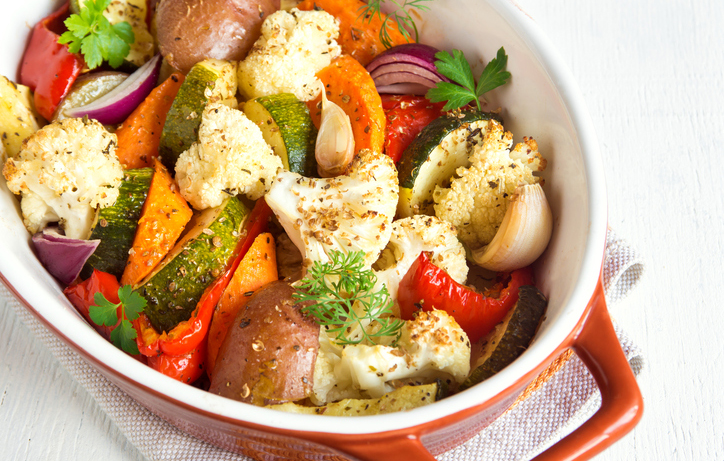Roasted Vegetables Dish