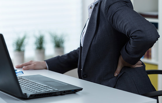 Sitting Desk Work Back Pain
