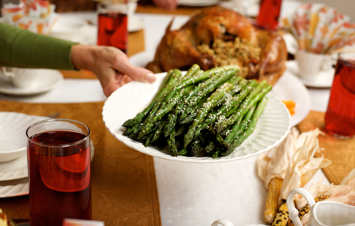 Thanksgiving Meal Asparagus