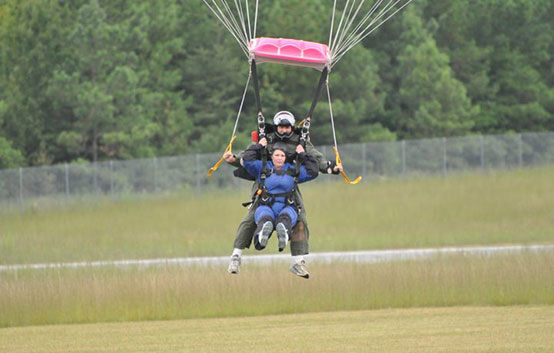 Donna Southard Mjh Cancer Brain Lung Skydiving