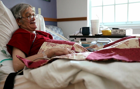 Sentara Hospice House provides a place for comfort