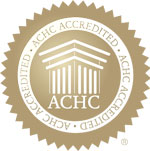 Accreditation COmmission for Health Care (ACHC) seal